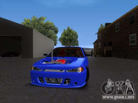 VAZ 2114 Sport para GTA San Andreas left