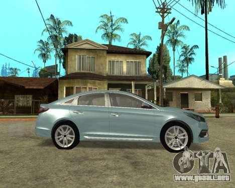 Hyundai Sonata Armenian para GTA San Andreas left