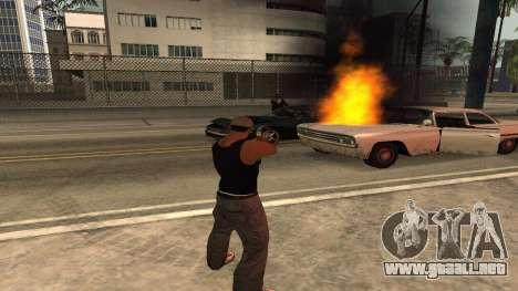 Cheetah Mod v1.1 para GTA San Andreas quinta pantalla