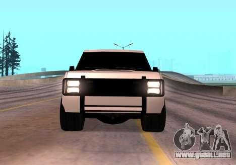 Huntley Rover para la visión correcta GTA San Andreas