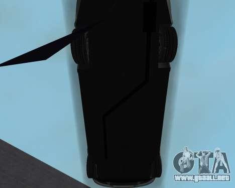 Chevrolet Aveo Armenian para vista inferior GTA San Andreas