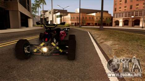 Quad Graphics Skull para GTA San Andreas