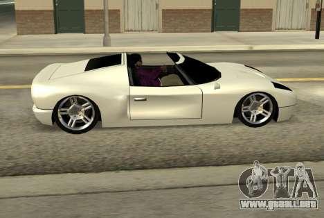 Bullet Spyder para GTA San Andreas left