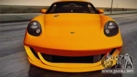 Ruf RK Coupe (987) 2007 IVF para la visión correcta GTA San Andreas