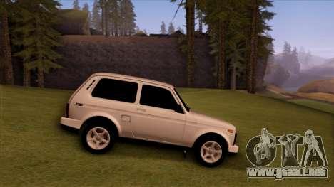 VAZ 2121 para la visión correcta GTA San Andreas