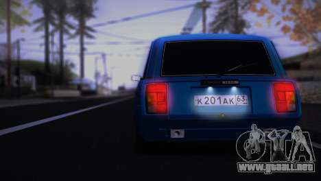 VAZ 2104 Anime para la visión correcta GTA San Andreas