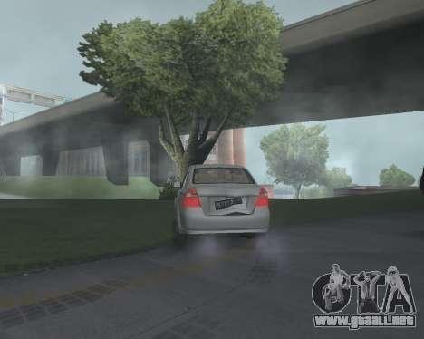 Chevrolet Aveo Armenian para la visión correcta GTA San Andreas