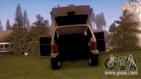 VAZ 2121 para visión interna GTA San Andreas