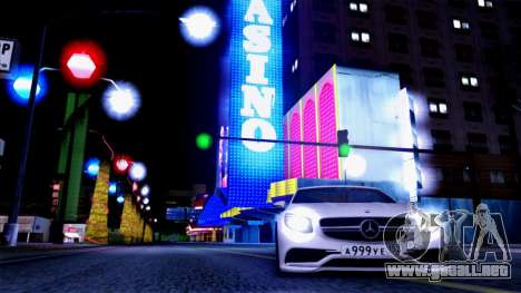 Mercedes-Benz S63 para vista lateral GTA San Andreas