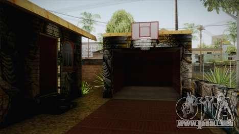 Big Smoke New Home para GTA San Andreas segunda pantalla