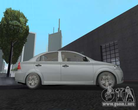 Chevrolet Aveo Armenian para GTA San Andreas left