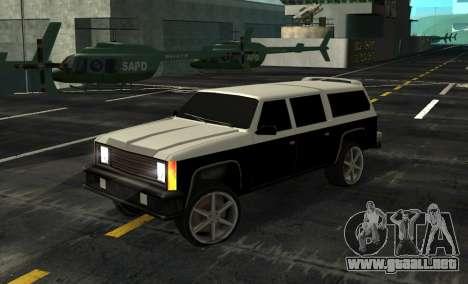 FBI Rancher Tuning para GTA San Andreas