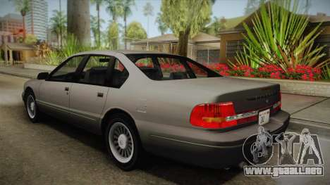 Willard Elegant SA Style para GTA San Andreas left