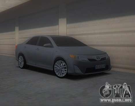 Toyota Camry 2013 USA para GTA San Andreas