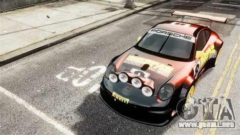 Porsche Rallye Vespas 911 GT3 RSR para GTA 4