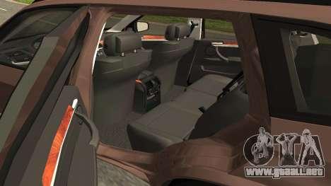 BMW X5M para la visión correcta GTA San Andreas