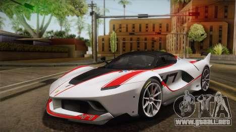 Ferrari FXX-K 2015 para visión interna GTA San Andreas