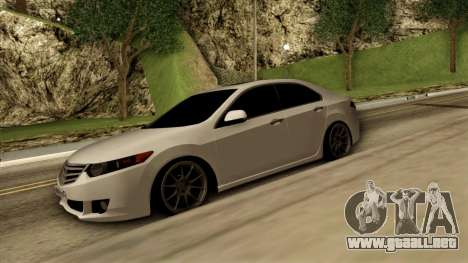 Honda Accord para GTA San Andreas left