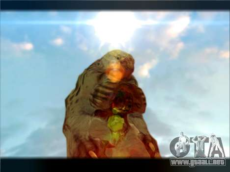Berzerker from DOOM 3 para GTA San Andreas segunda pantalla