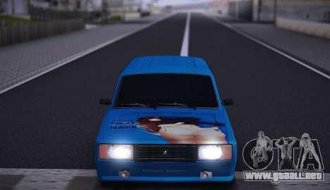 VAZ 2104 Anime para GTA San Andreas vista hacia atrás