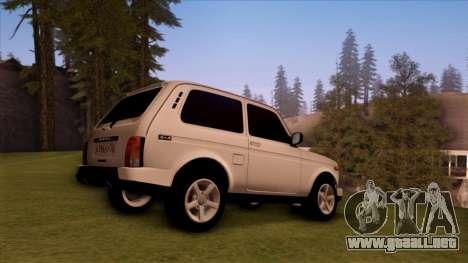 VAZ 2121 para GTA San Andreas left