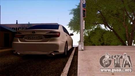 Toyota Camry 2016 para GTA San Andreas left