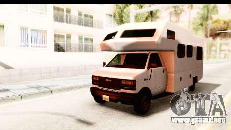 GTA 5 Camper para GTA San Andreas