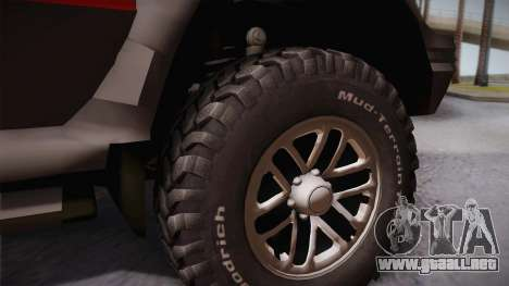 Mitsubishi Pajero 3-Door para GTA San Andreas vista posterior izquierda