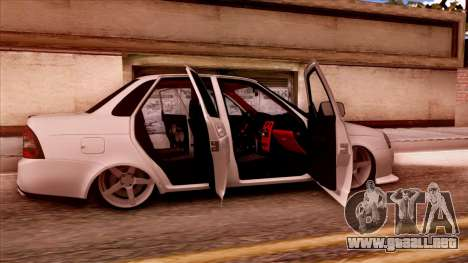 Lada Priora Autozvuk v.2 para la visión correcta GTA San Andreas