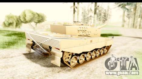 Leopard 2A4 para GTA San Andreas left