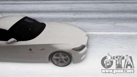 BMW Z4 para visión interna GTA San Andreas