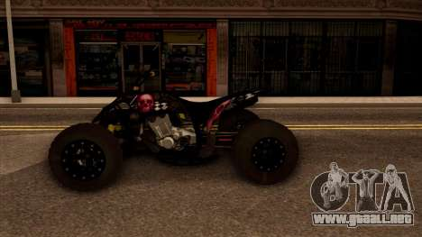Quad Graphics Skull para la visión correcta GTA San Andreas