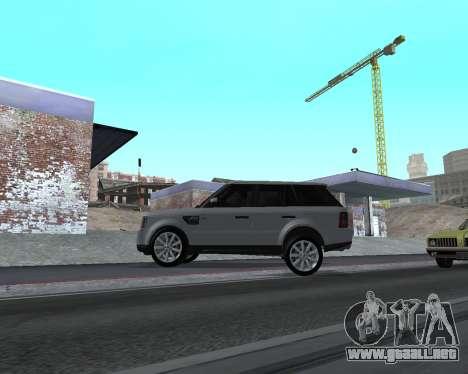 Range Rover Armenian para GTA San Andreas vista posterior izquierda