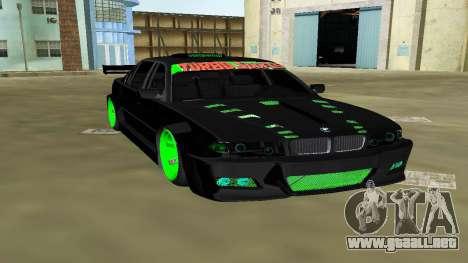 BMW 750 E38 Hamann Turbo Sports para GTA Vice City