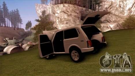 VAZ 2121 para la vista superior GTA San Andreas