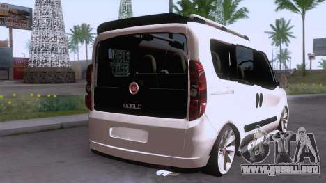 Fiat Doblo para GTA San Andreas left