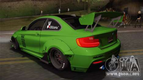BMW M235i 69Works para GTA San Andreas left