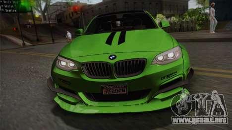 BMW M235i 69Works para la visión correcta GTA San Andreas