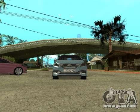 Hyundai Sonata Armenian para la visión correcta GTA San Andreas