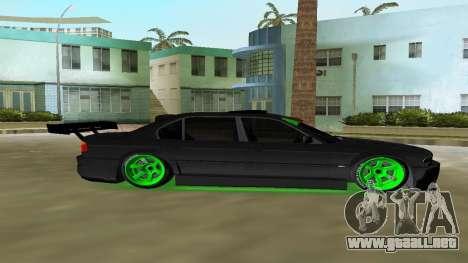 BMW 750 E38 Hamann Turbo Sports para GTA Vice City vista lateral izquierdo