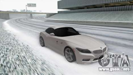 BMW Z4 para GTA San Andreas left
