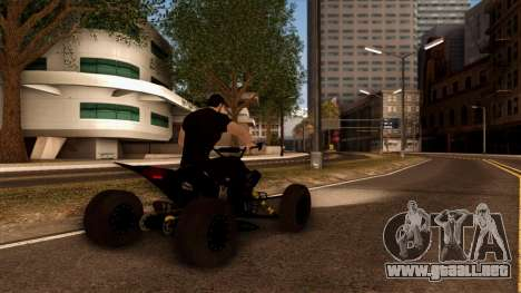 Quad Graphics Skull para la vista superior GTA San Andreas