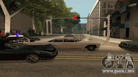 Cheetah Mod v1.1 para GTA San Andreas sucesivamente de pantalla