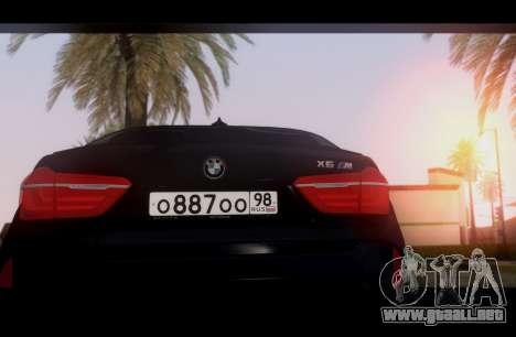 BMW X6M BULKIN SAMP EDITION para la visión correcta GTA San Andreas