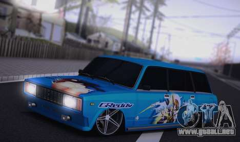 VAZ 2104 Anime para GTA San Andreas left