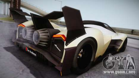 Devel Sixteen para GTA San Andreas left