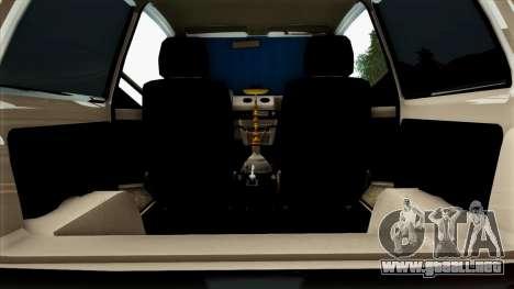 VAZ 1111 para GTA San Andreas interior