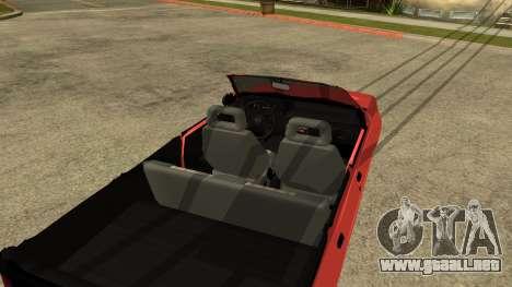 Opel Kadett AcademeG edition para la visión correcta GTA San Andreas