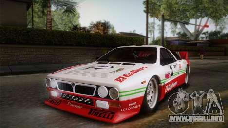 Lancia Rally 037 Stradale (SE037) 1982 HQLM PJ1 para la visión correcta GTA San Andreas
