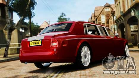 Rolls-Royce Phantom LWB V2.0 para GTA 4 left
